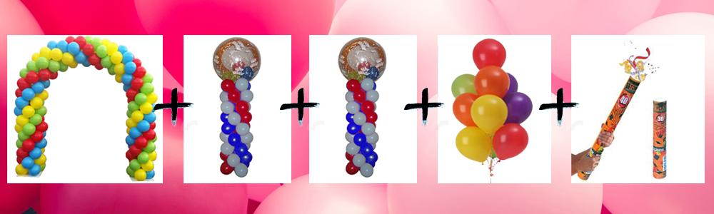arco di palloncini offerta per comunione napoli