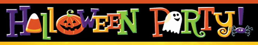 banner animazione a tema halloween